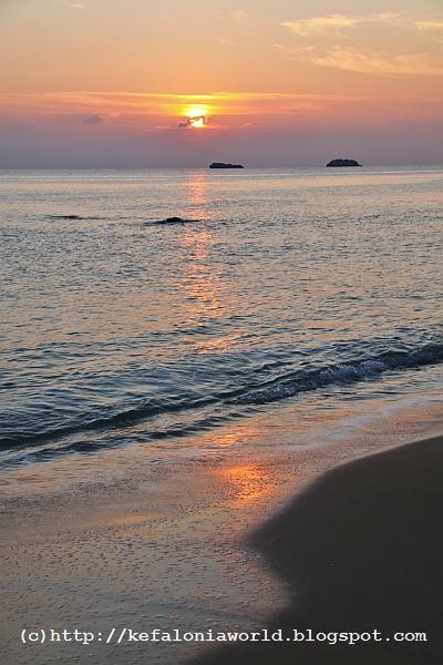 Sunset at Avythos Beach, Kefalonia