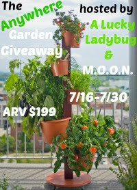 The Anywhere Garden Giveaway, ends 7/30