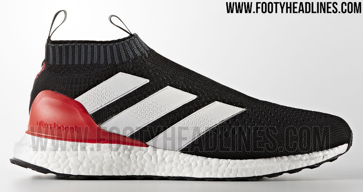 half off 5f1fa 199f6 This image shows the stunning Adidas Ace 16+ PureControl UltraBoost sneakers  in black, red and white, part of the Adidas Red Limit collection.