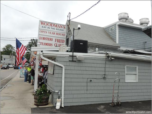 Lobster Shacks en Massachusetts: Woodman's of Essex