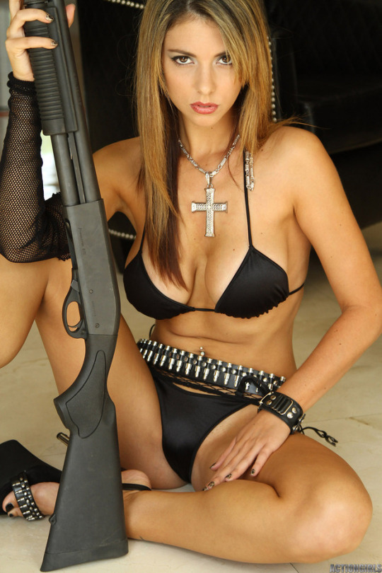 And the sexy girls with guns advise