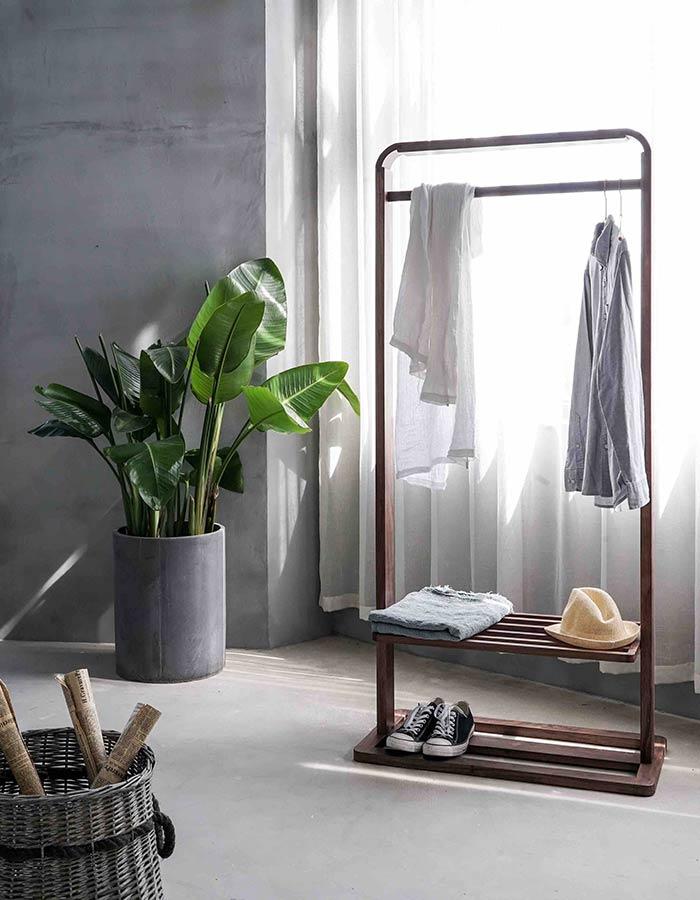Inspiração de decoração escandinava com foco minimalista