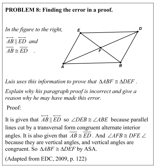 how to prove a rhombus