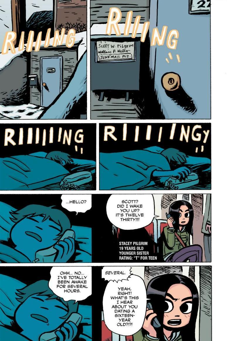 Read online Scott Pilgrim comic -  Issue #1 - 22