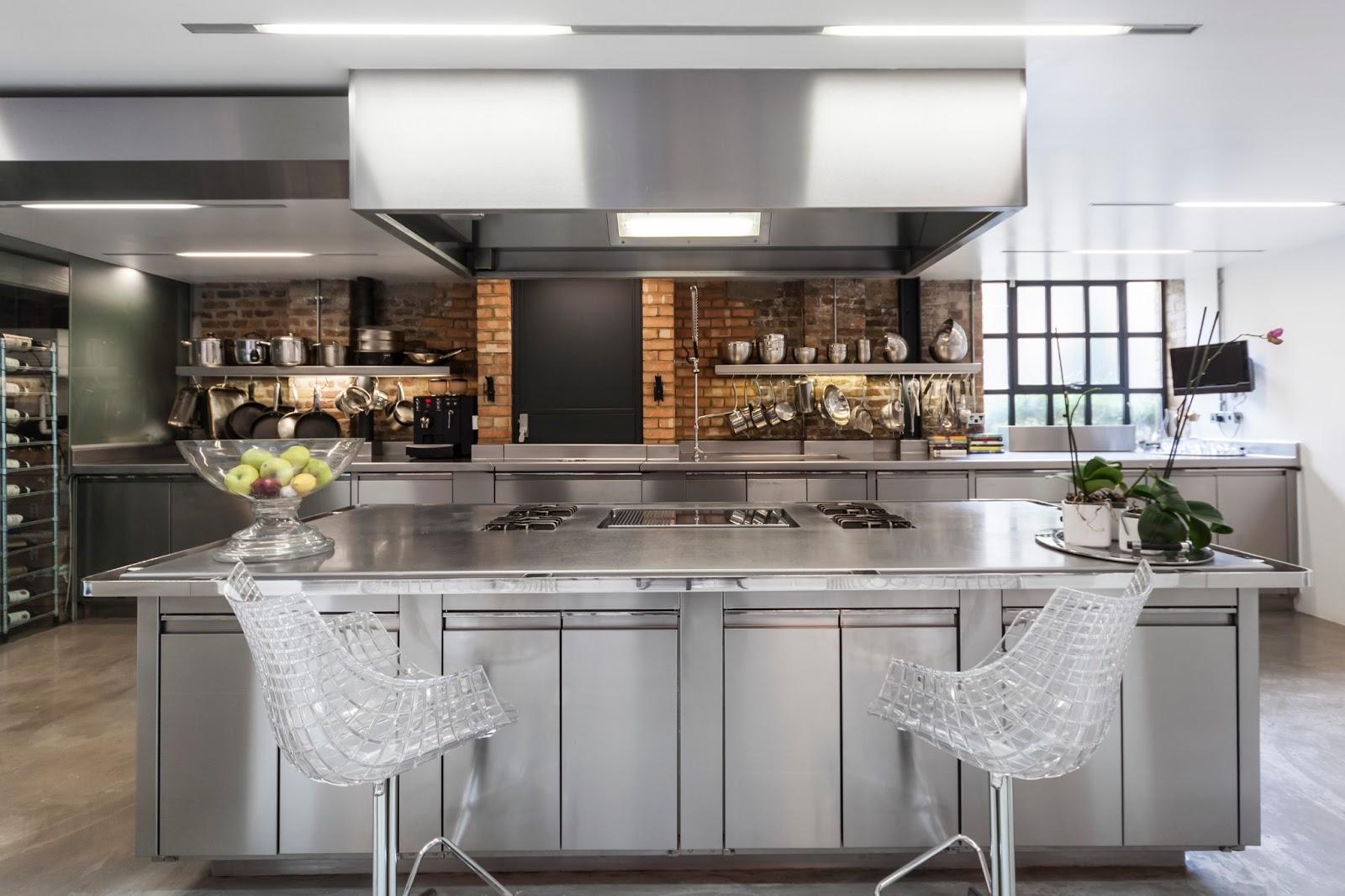 7 cocinas de lujo para las vacaciones kansei cocinas for Cocinas integrales modernas de lujo