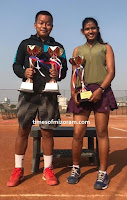 India tennis ah Mizo tlangval Jojo Khum