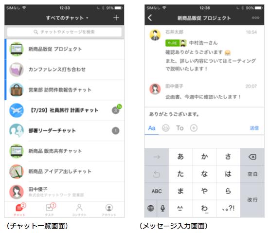 チャットワーク(chatwork)の使い方。スマホアプ …