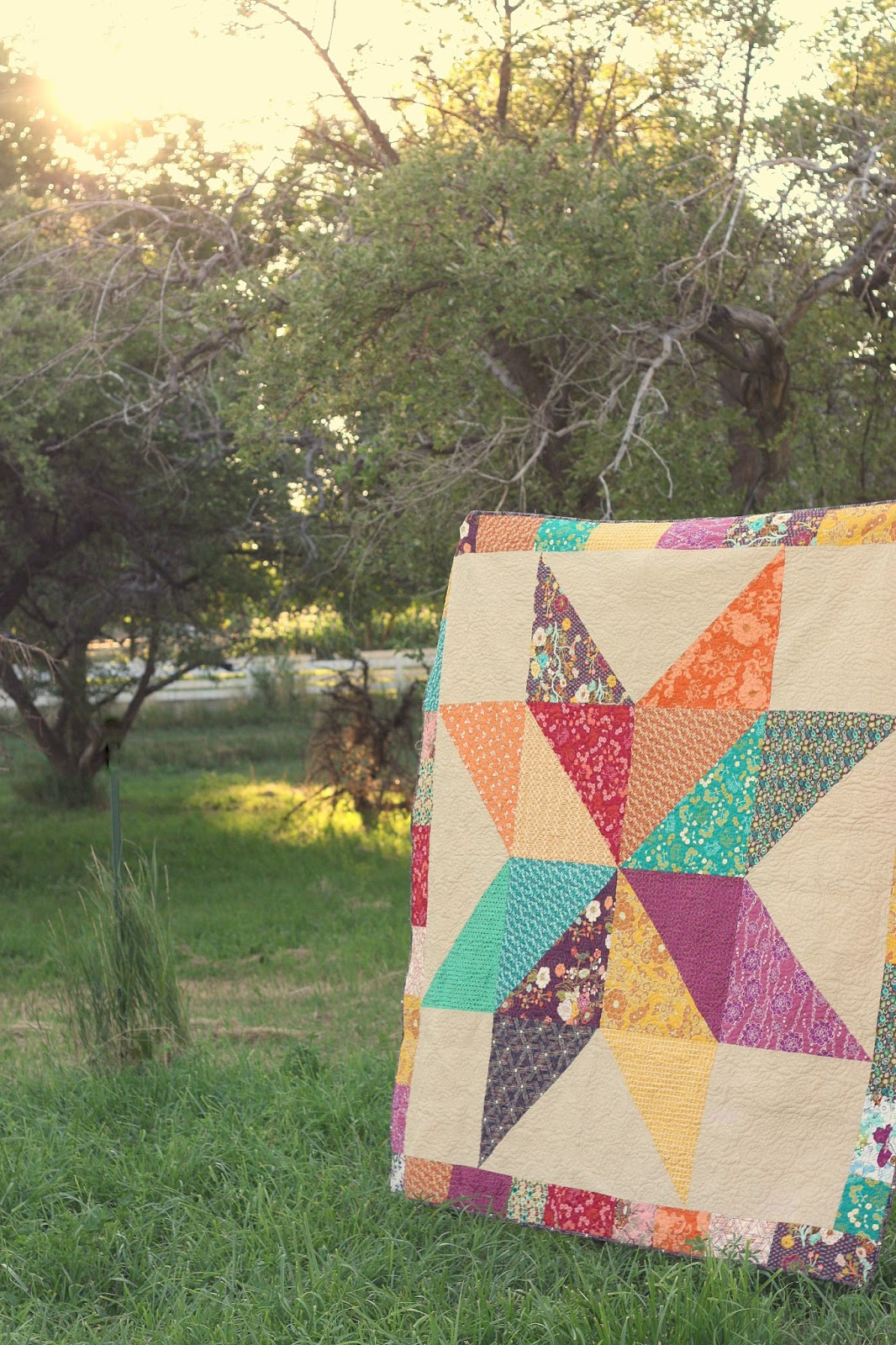 Fat Quarter Giant Star Quilt : giant star quilt - Adamdwight.com
