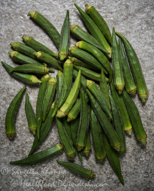 Okra, Bhindi, Lady's finger | steamed okra recipes