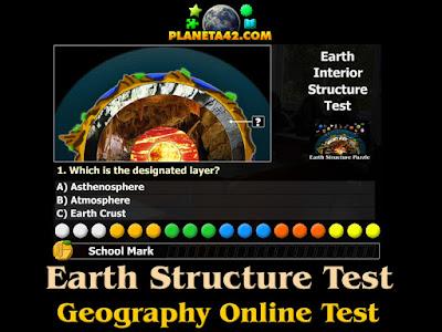 Структура на Земята Тест