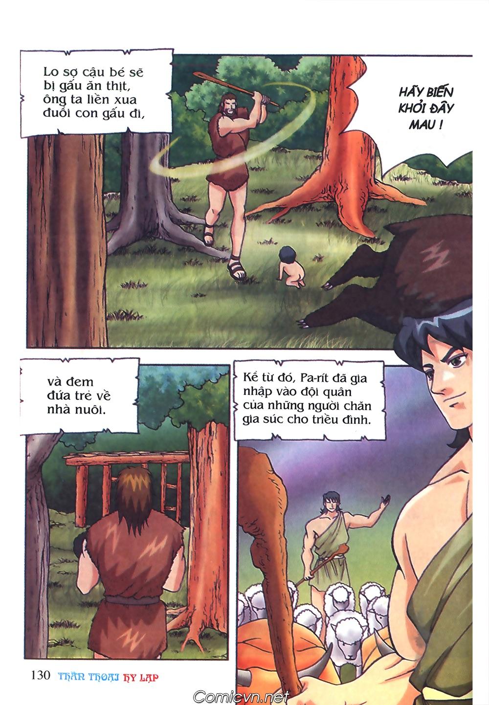 Thần Thoại Hy Lạp Màu - Chapter 50: Hoàng tử Pa rít - Pic 7