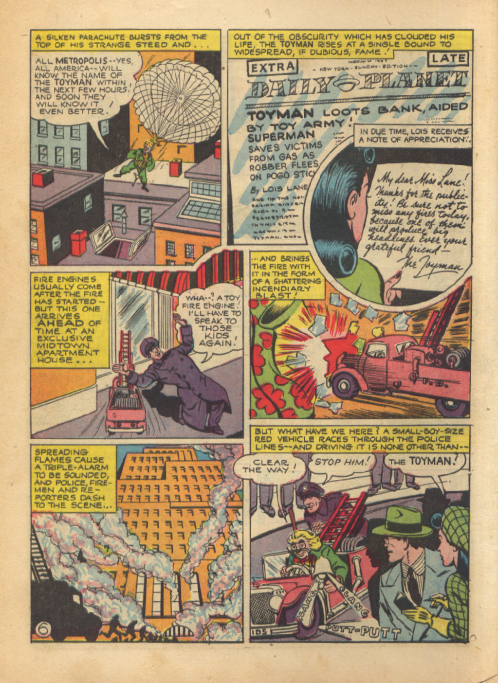 Read online Action Comics (1938) comic -  Issue #64 - 8
