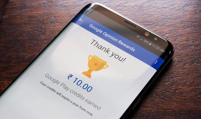 Como ganhar mais pesquisas no Google Opinion Rewards