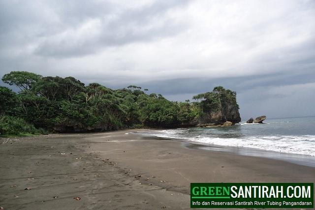 Pantai Madasari Pangandaran
