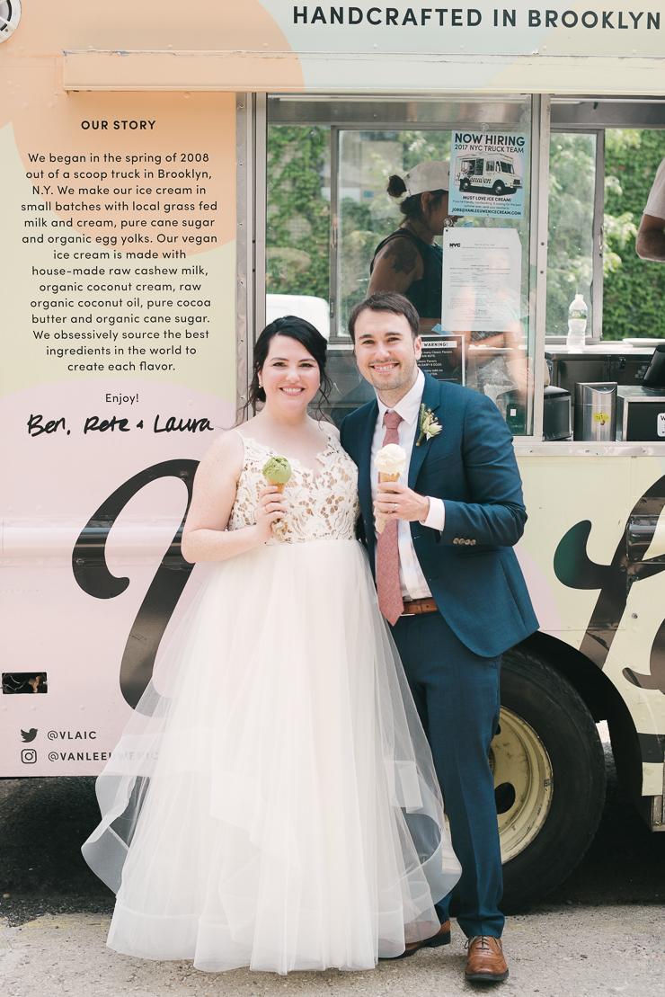 Van Leeuwen Ice Cream Truck for Weddings