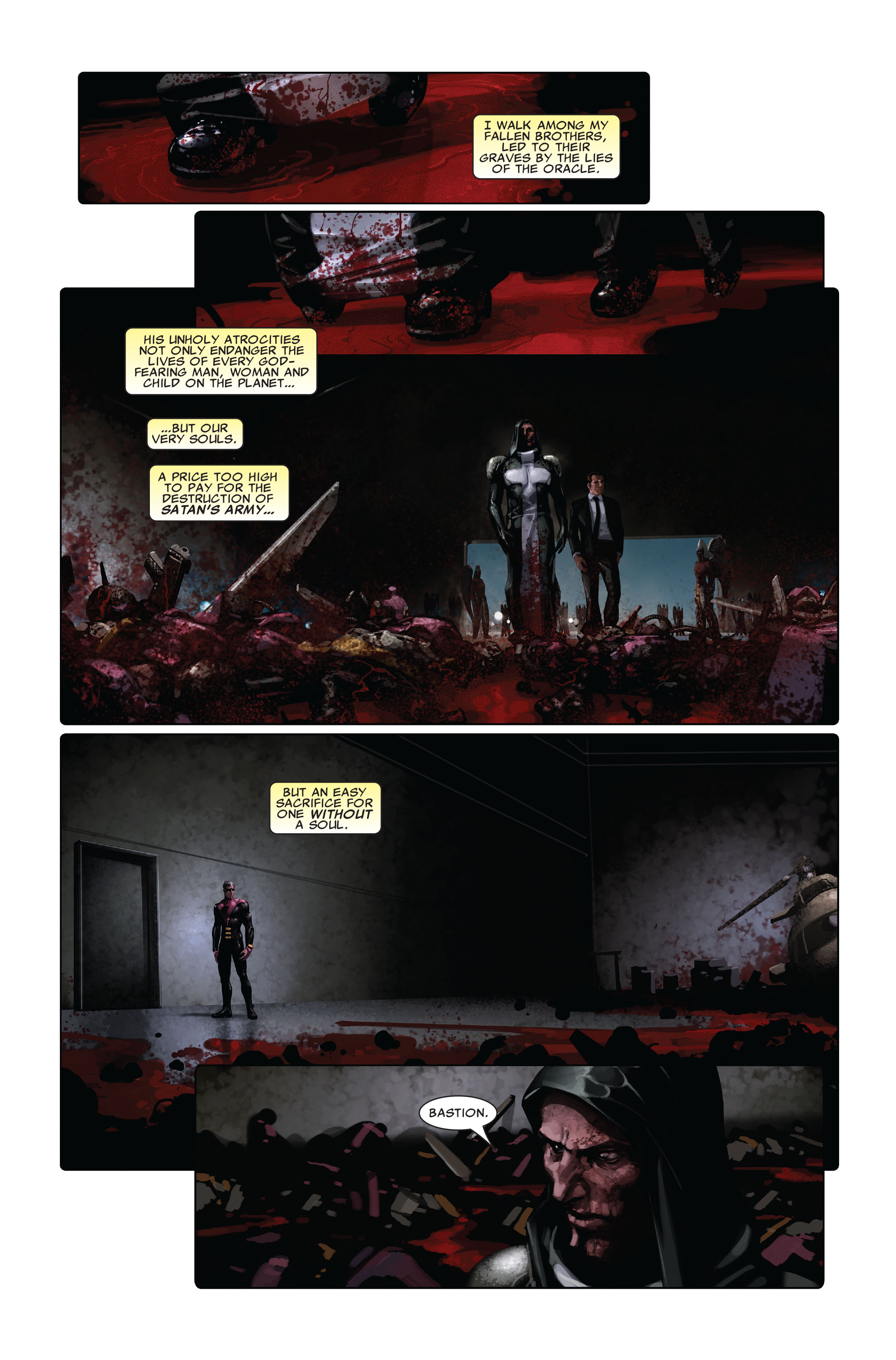 Read online X-Force (2008) comic -  Issue #5 - 19
