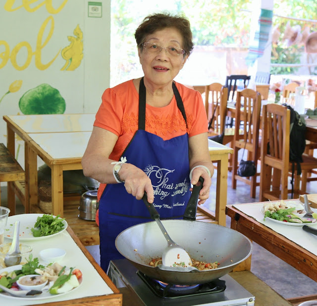 Thai Secret Cooking Class Photos. March 5-2017. Pa Phai, San Sai District, Chiang Mai, Thailand.