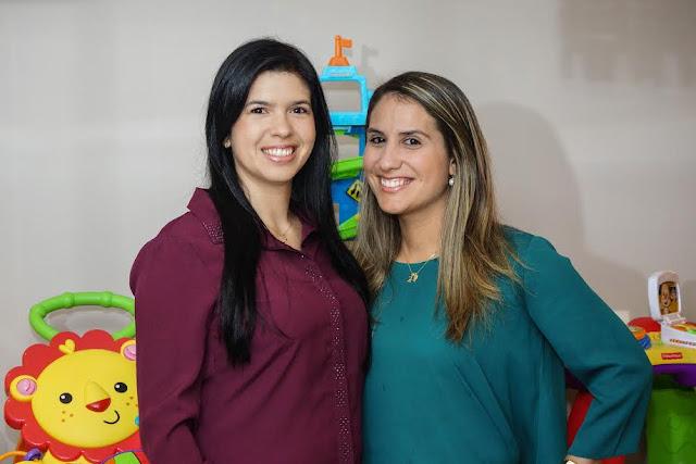 Vidiane Pinheiro e Amanda Freire  da Loktoy