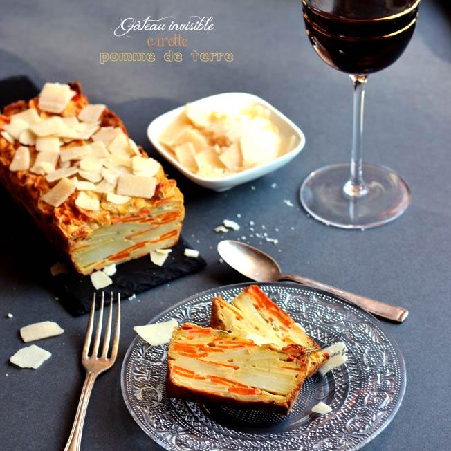 Gateau carotte et pomme de terre