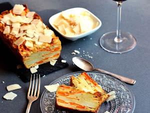 Gâteau invisible salé carotte pomme de terre