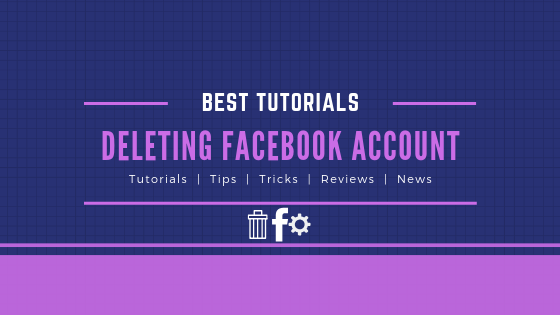 How To Delete An Facebook Account<br/>