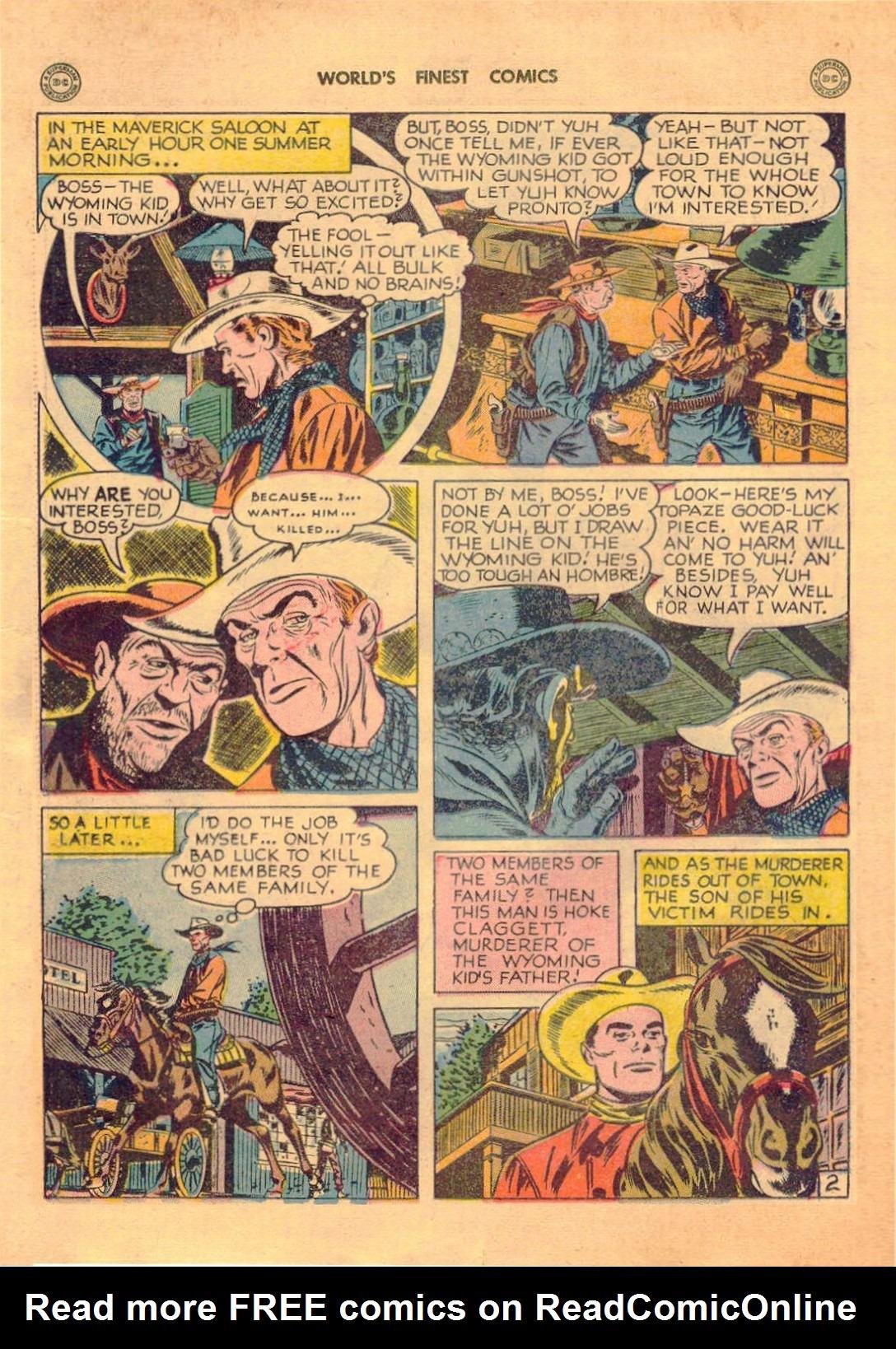 Read online World's Finest Comics comic -  Issue #42 - 38