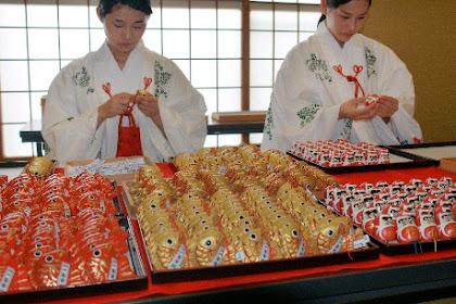 初詣おみくじ作り 愛宕神社