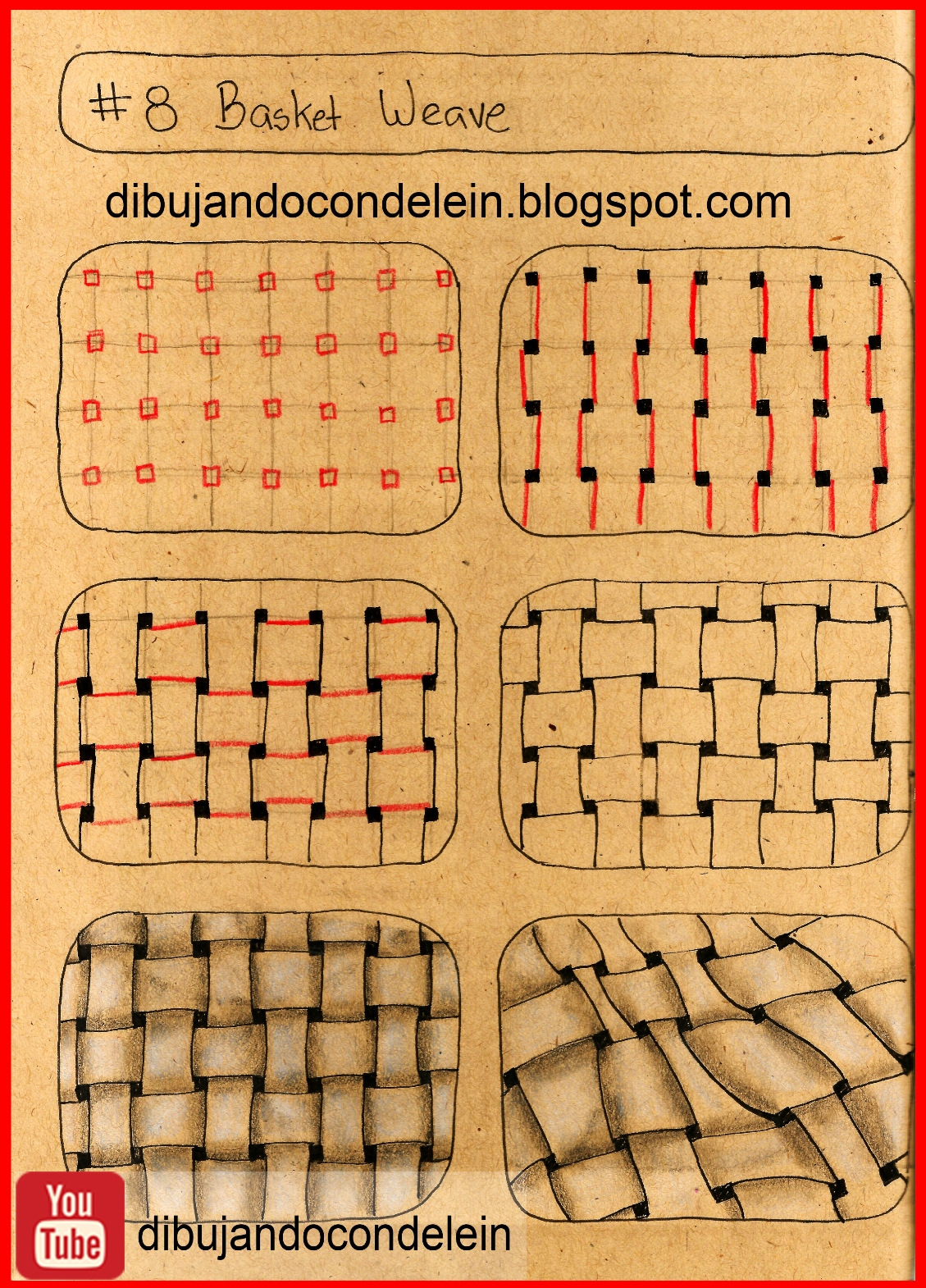 Dibujando Con Delein Como Dibujar Zentangle Art Paso A Paso Diseno 8