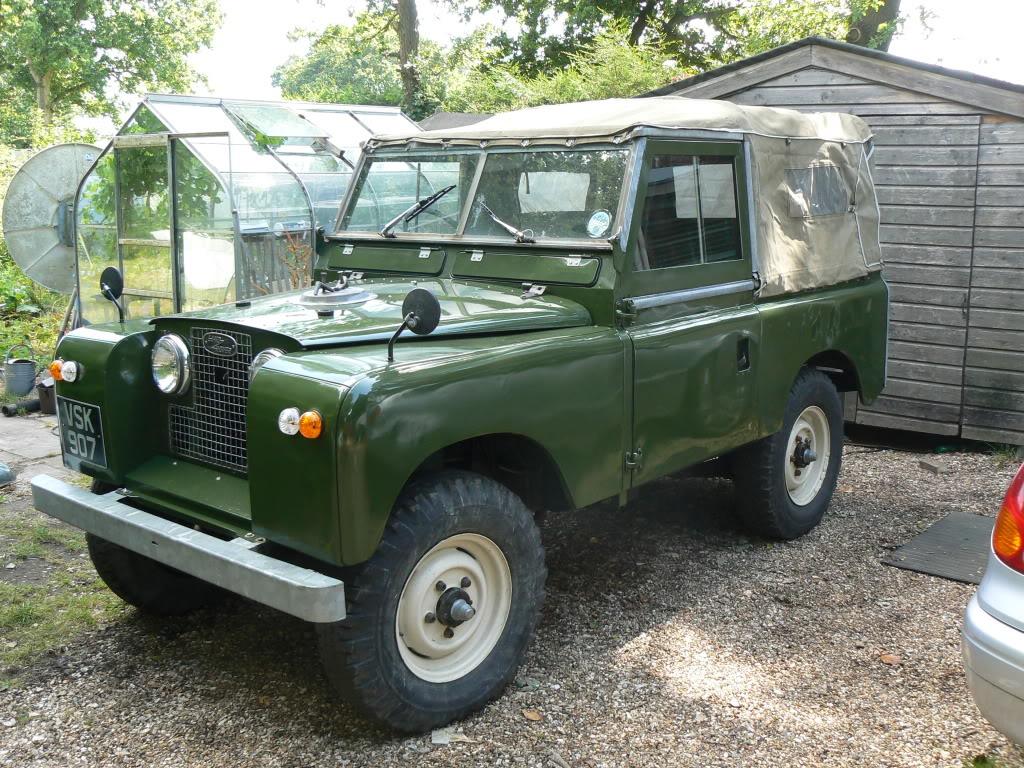Automotive Database Land Rover Series Ii
