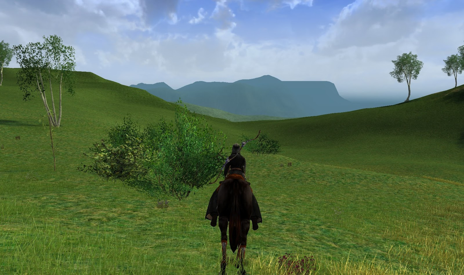 Delving In Monochrome Interior Design: Wonderful Places In LOTRO's Middle Earth: Peeking Behind