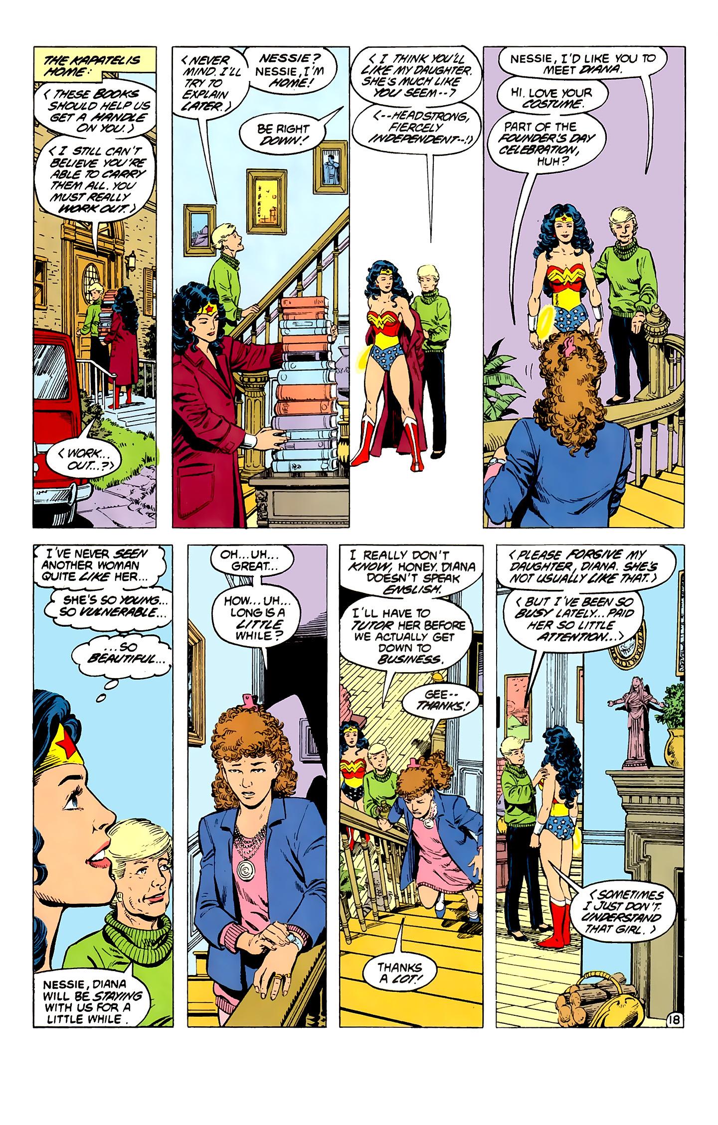 Read online Wonder Woman (1987) comic -  Issue #3 - 19