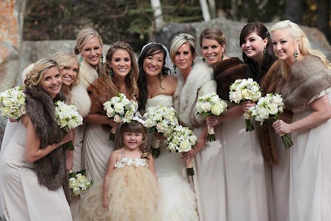 Stunning Winter Destination Wedding In Vail Colorado