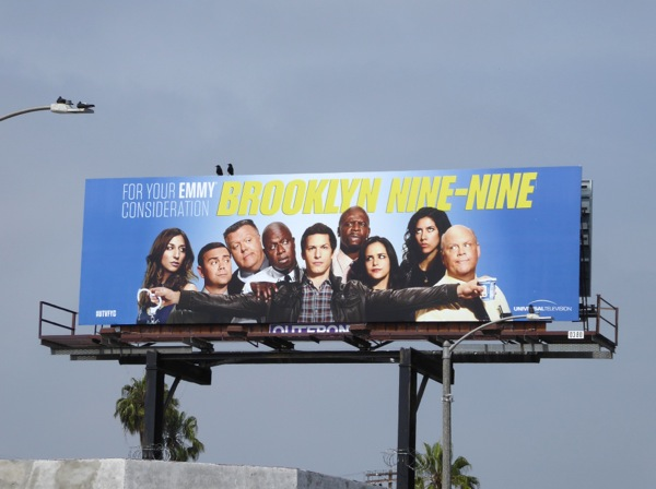 Brooklyn Nine Nine season 3 Emmy 2016 FYC billboard