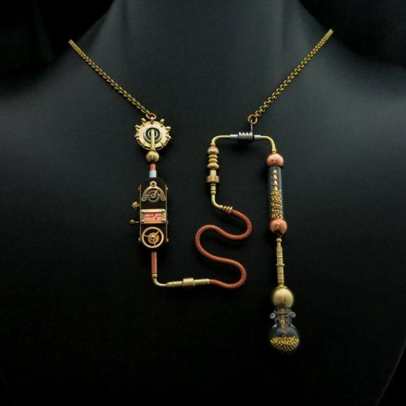 Resultado de imagen para STEAMPUNK jewelry
