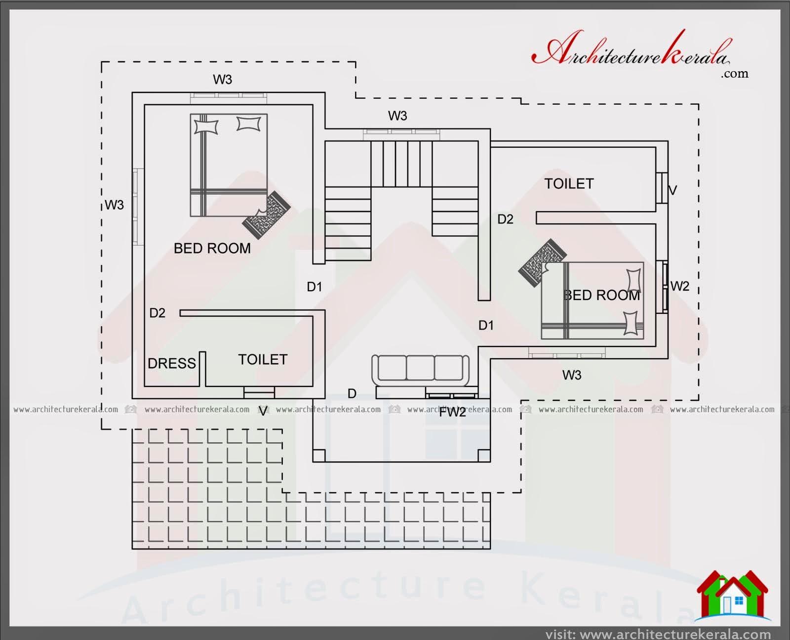 Home Design 800 Sq Feet - HomeRiview on 1200 square feet home, 1200 square feet 3 bedroom house plans, two bedroom 2 bath house plans,