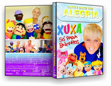 XUXA CANTE E DANCE COM ALEGRIA (2016) DVD-R