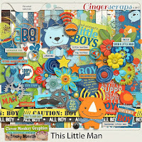 Kit : This Little Man by Clever Monkey Graphics