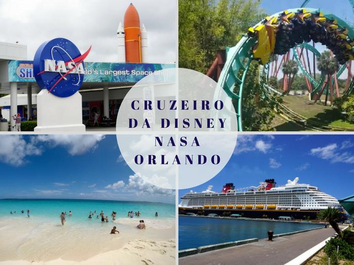 Roteiro Cruzeiro da Disney, NASA e Orlando
