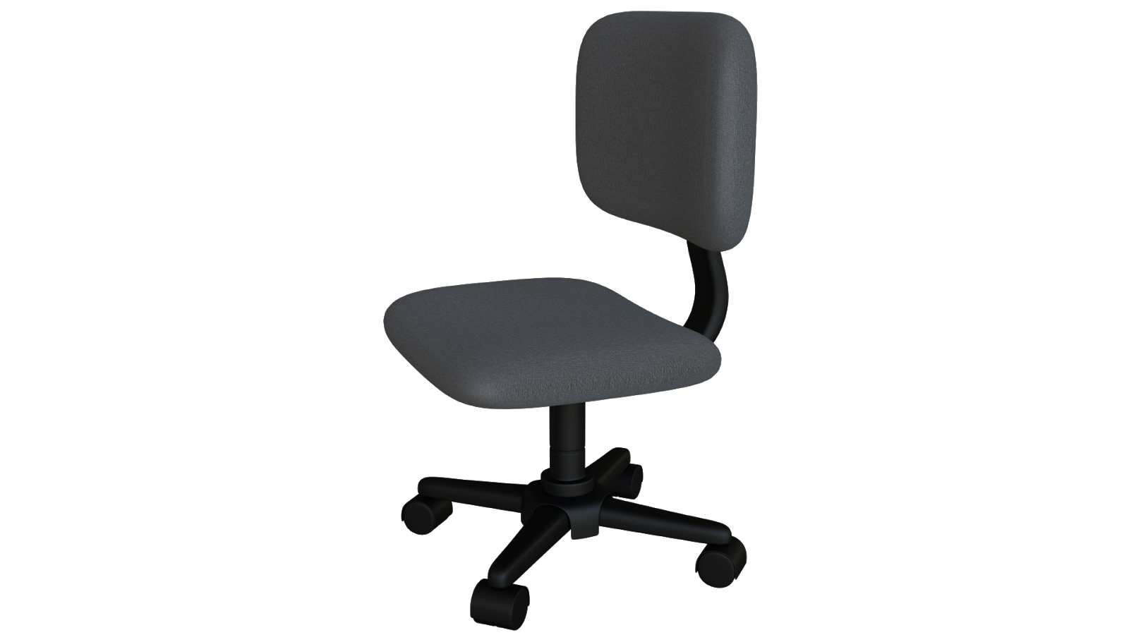 Free 3D Office Chair CC0 3DS - Free 3D Models Under Public Domain