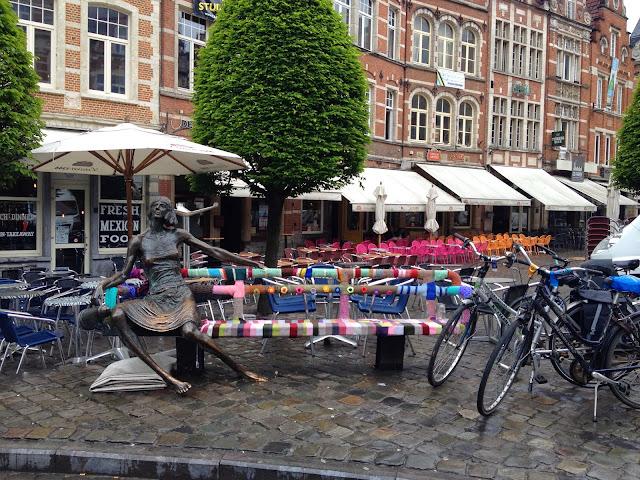 Oude mark una bonita plaza