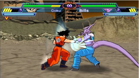 Dragon Ball Z Shin Budokai 2 PSP PPSSPP ISO CSO Game Android