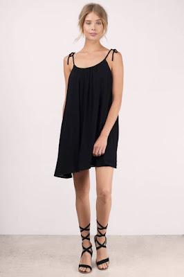 Strap Dress tali kecil baju mlorot
