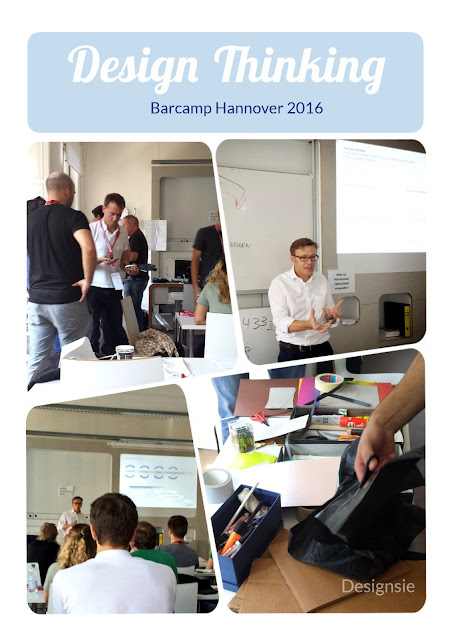 Design Thinking Session Barcamp Hannover 2016