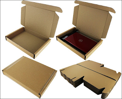 Laptop Shipping Box