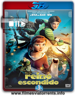 Reino Escondido Torrent - BluRay Rip 1080p 3D HSBS Legendado (2013)