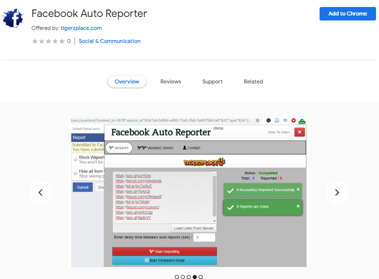 How to report on Facebook (Accounts/Groups/Pages) using