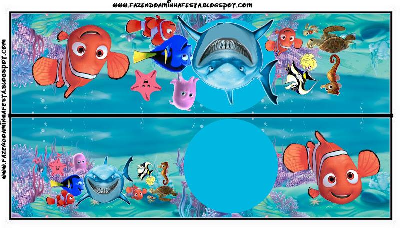 Tarjetas De Invitación De Nemo Imagui