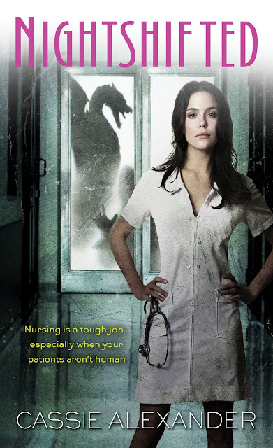2012 Debut Author Challenge Update - Cover - Nightshifted by Cassie Alexander