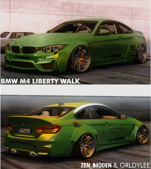 2014 BMW M4 Liberty Walk