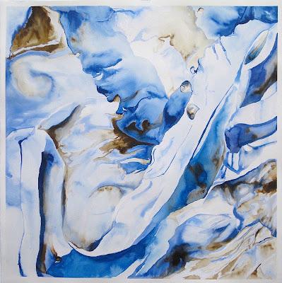 Jamin Carter | Fluidity | 26x26 | $300